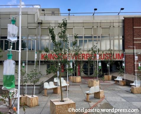 Kunstgewerbemuseum Berlin Ausstellung food revolution 5-0 Eingangsbereich