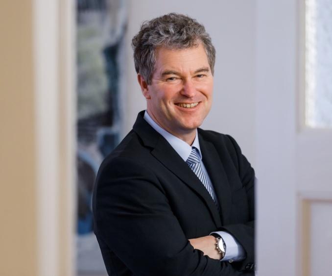 porträt Andreas Schreiner (Dipl. Kfm.), General Manager AGON Group Berlin.