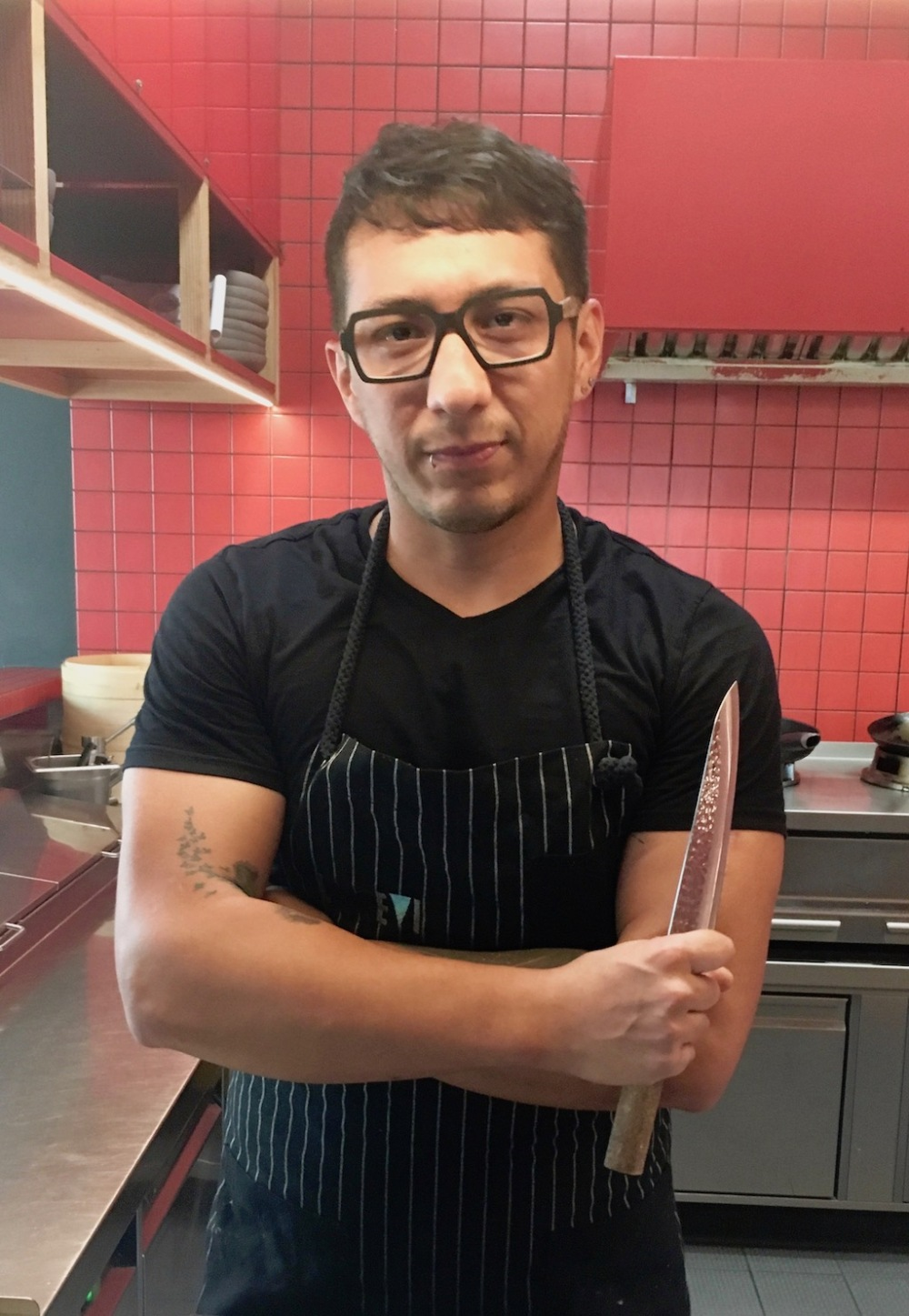 Nauta-Küchenchef Diego Velasquez Jimenez ©Oliver Numrich